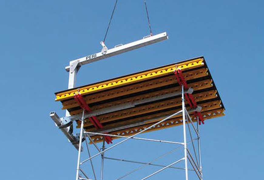 Act as shoring for table formwork in order to reach bigger height and bearing capacity compared with normal steel prop