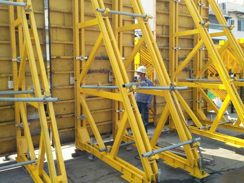 Concrete Wall Formwork Systems